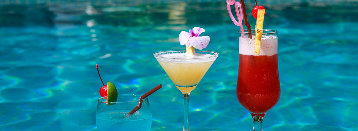 Enjoy our fresh Cocktail & Relax after along day trip